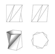 Tensegridade   Beton und Möbel                 / / Informação / folgt Texto       / /  Informação / Texto segue                  cofra... Concrete Crafts, Concrete Projects, Concrete Design, Concrete Planters, Concrete Cement, Concrete Bench, Origami 3d, Paper Crafts Origami, Cardboard Paper