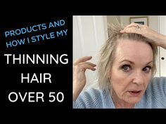 Menopause and thyroid issues cause hairloss for many women. Today I'm sharing the haircut and products I use for my thinning hair. Medium Thin Hair, Thin Hair Cuts, Haircuts For Thin Fine Hair, Short Thin Hair, Haircut For Older Women, Short Hair Older Women, Short Hair With Layers, Cool Haircuts, Short Hair Styles