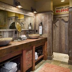 Rustic Bathroom Vanities Rustic Bathrooms And Vanity Ideas