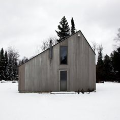 I'm sure the other sides have huge windows. and for the future ski house.
