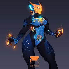 ArtStation - Gali Ca, Demitsorou V Fantasy Character Design, Character Design Inspiration, Character Concept, Alien Character, Character Art, Fantasy Characters, Female Characters, Alien Female, Warframe Art