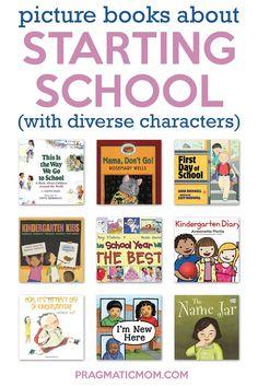 Best Children Books, Childrens Books, Starting School, Kids Around The World, Back 2 School, Free Activities, Chapter Books, Children's Literature, Picture Books