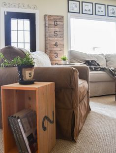 Down to Earth Style: Family Room Refresh 2014