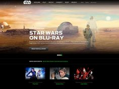 Star Wars: A Universe for  a Universe by Big Spaceship , via Behance