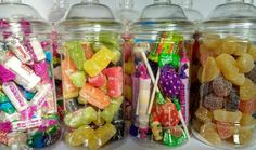#Victorian sweet jar #filled retro #sweets gift jar hamper chocolate retro jars,  View more on the LINK: http://www.zeppy.io/product/gb/2/262557483723/