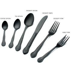 Black cutlery nEED