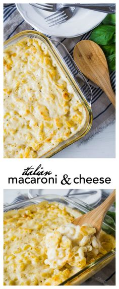 This is going to be your NEW FAVORITE Macaroni and Cheese Recipe…go ahead and give it a try…I dare you! This Italian Macaroni and Cheese Recipe is one of our very favorites. Make it when you need a great comfort food meal. So cheesy and full of flavor, this is a mac and cheese recipe …