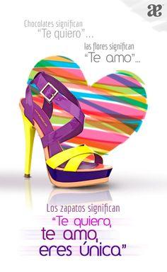 Los #Zapatos significan: #Teamo #Tequiero  #ModaAndea