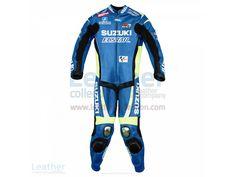 Aleix Espargaro Suzuki 2015 MotoGP Leathers  https://www.leathercollection.com/en-we/aleix-espargaro-suzuki-2015-motogp-leathers.html  #Aleix_Espargaro_Suzuki_2015_MotoGP_Leathers, #Motogp_Leathers, #Suzuki_Leathers