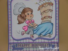 TinyWorks: Easil card Happy Birthday