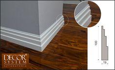 Listwa przypodłogowa z MDF C-29 - to obowiązkowy element dekoracyjny w pojęciu aranżacji wnętrz. Jeśli szukasz niebanalnych rozwiązań to nasza oferta jest skierowana właśnie do Ciebie! #baseboard #listwymdf #przypodlogowe #Interior #Decoration Stairs, Mirror, Furniture, Home Decor, Stairway, Decoration Home, Room Decor, Mirrors, Staircases