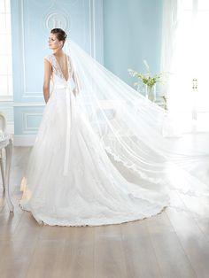 Vestido de novia, modelo Hammadi de St. Patrick 2014  www.sanpatrickgranada.es