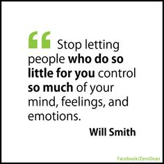 Stop letting people who do so little for you... #Quote #Inspiration