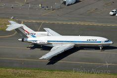 United, Boeing 727-100 (N7001U) at KBFI  Boeing 100 Years Founders Day display