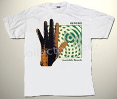 GENESIS Invisible Touch CUSTOM ART UNIQUE T-SHIRT  Each T-shirt is individually hand-painted, a true and unique work of art indeed!  To order this, or design your own custom T-shirt, please contact us at info@collectorware.com, or visit  http://www.collectorware.com/tees-genesis_andrelated.htm
