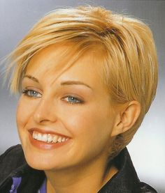 Short Haircuts For Women with fine ,thin hair Over 50   the bob short haircuts the cap cut the crop or the pixie haircuts are ...