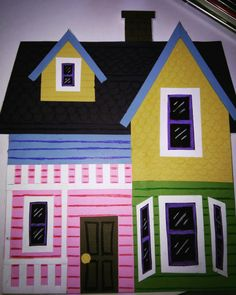 Disney's UP house handmade (foam board)