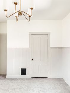 Home Renovation, Home Remodeling, Wall Trim, Trim On Walls, Panel Walls, Board And Batten, Wall Treatments, New Wall, Home Decor Inspiration