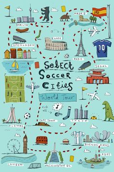 Alex Latimer - Selected Soccer Cities
