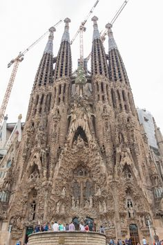 The San grata familia in Barcelona Spain Antoni Gaudi Sagrada Familia, Barcelona Spain Travel, Adventure Is Out There, Travel Couple, Perfect Place, Barcelona Cathedral, Adventure Travel, Places To Go, Europe