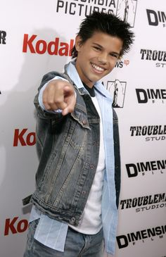"""Actor Taylor Lautner attends the premiere of Dimension Films """"The Adventures of Shark Boy and Lava Girl in 3D"""" at the El Capitan Theatre on June 4, 2005 in Hollywood, California."""
