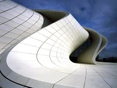 Zaha Hadid Architects, Heydar Aliyev Center, Baku, Azerbaijan. Photo Hélène Binet