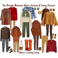 The Bridge Between Warm Autumn & Deep Autumn