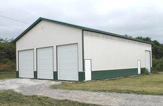 Ottawa, IL - Garage Building - Lester Buildings Project: 213534 Barn Garage, Ottawa, Buildings