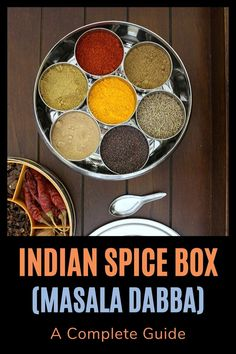 Indian spice box or masala dabba – It is essential, very functional in almost every Indian household's kitchen. You should have it, if you are cooking Indian food more frequently. Veg Dinner Recipes, Indian Food Recipes, Lunch Recipes, Ethnic Recipes, Indian Spice Box, Banana Waffles, Waffle Mix, Indian Kitchen, Nut Butter