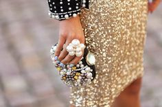New Year's Eve Party Manicure & Outfit Tips