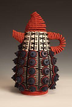 Teapot Baskets.  JoAnne Russo 2012