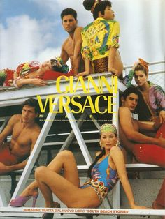 Gianna Versace campaign, 1992