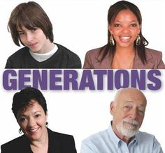 generations in workplace - Google Search