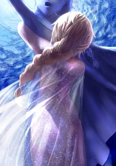 Queen Elsa. #Frozen