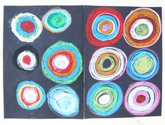 Drawing With Pastels On Black Paper - creative jewish mom