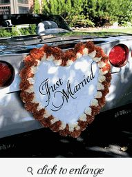 1000 Images About Wedding Car Decorations On Pinterest