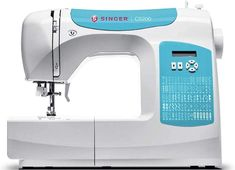The Singer C5200 is easy to use but it has a host of issues.  Probably a good idea to read the review before jumping in. Sewing Machine Brands, Sewing Machine Reviews, Juki, Janome, Easy To Use, Singer, Good Things, Singers