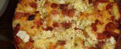 Receita de Pão sabor pizza de liquidificador