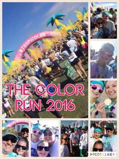Color Run with my fam! It was a blast, I can't wait till next year!