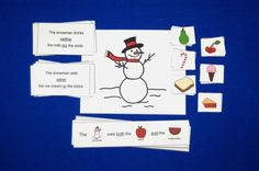 Snowman Language Activity for Either, Neither, and Both. Pinned by SOS Inc. Resources. Follow all our boards at pinterest.com/sostherapy for therapy resources.