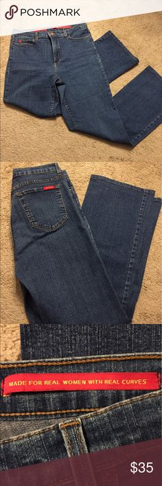 "NWDJ Tummy Tuck Jeans 29"" inseam in great shape! Style #4000 NYDJ Jeans Straight Leg"