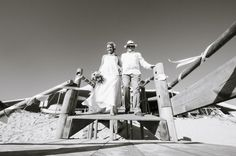 Beach Wedding: Here comes the bride