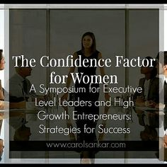 Exclusively for #global high achieving #women who are ready to learn the secrets to defining a new caliber of #success  through #collaboration and partnership to excel them in their growth in leadership. If you are ready to join a group of power leaders who are leading and excelling yet are committed to breaking down the wall of the corner office and multi million dollar ceiling in #business, claim your seat at www.carolsankar.com  #inspiration #nextlevel #ceo #cfo #startup #tech…