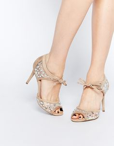 New Look Wide Fit 2 Part Heeled Sandal