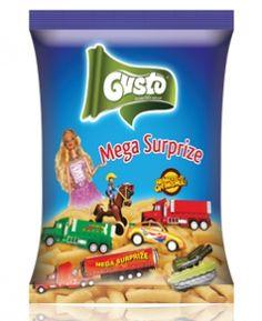 """#Gustopufuleti cu #MegaSurprize Dimensiunile jucăriilor sunt într-adevar """"Mega"""", oferind oricărui copil o MegaSurpriză la deschiderea pungii de #pufuleți!"""