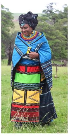 South African Traditional Dresses, Traditional Fashion, Traditional Outfits, Traditional Wedding, Xhosa Attire, African Attire, African Wear, African Dresses For Women, African Fashion Dresses