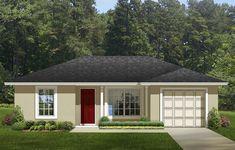 Garage House Plans, Ranch House Plans, Cottage House Plans, Bedroom House Plans, Small House Plans, Cottage Homes, House Floor Plans, Car Garage, Small Cottage Plans