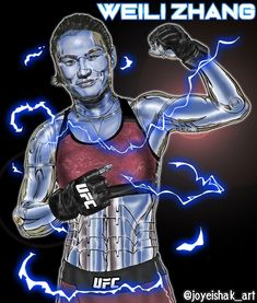 "61 Me gusta, 1 comentarios - Joyeishak Art ✍️📸🎥 (@joyeishak_art) en Instagram: ""UFC CHAMPION: @zhangweilimma  Cyber Art, Fan Illustration. Max Respect ♥ . . . #ufc #rememberme…"" Ufc, Cyber, Respect, Champion, Fans, Instagram, Illustration, Fictional Characters, Make Art"