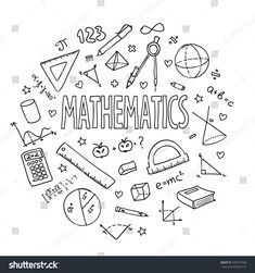 Find Hand Drawn Vector School Set Mathematics stock images in HD and millions of other royalty-free stock photos, illustrations and vectors in the Shutterstock collection. Thousands of new, high-quality pictures added every day. Project Cover Page, Math Design, Design Design, School Design, Math Wallpaper, School Equipment, School Notebooks, Math Notebooks, School Sets