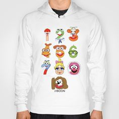 Muppet Babies Numbers Hoody by Mike Boon - $38.00